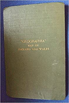 Geographia Road Map of England and Wales Amazoncouk