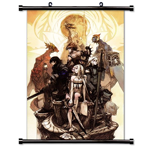 Drakengard Video game Wall Scroll Poster  Inches
