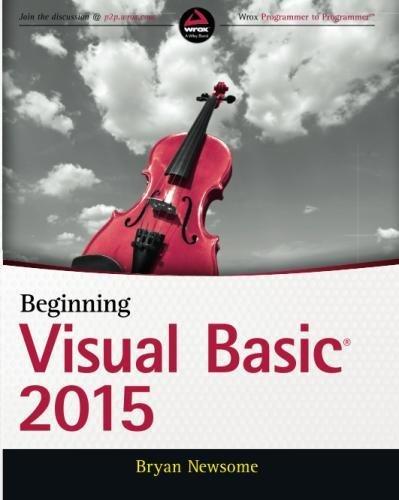 Beginning Visual Basic 2015 by Wrox Pr Inc