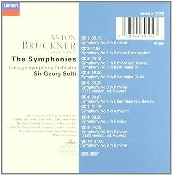 Bruckner: The Symphonies Complete