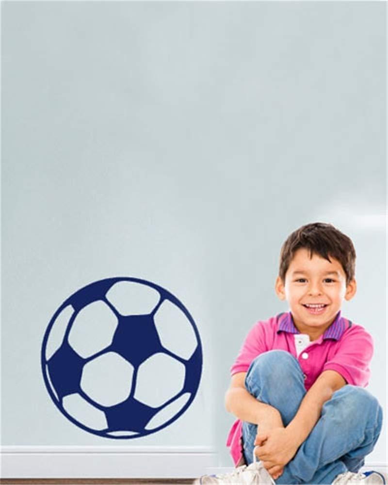 pegatina de pared pegatinas decorativas pared Fútbol personalizado ...