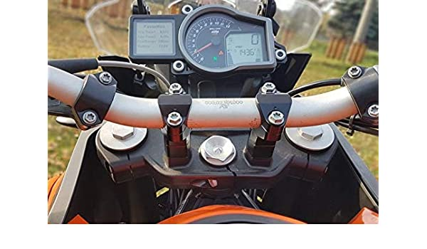 Elevador de Manillar 30mm para KTM 1290 Super Adventure: Amazon.es: Coche y moto