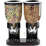 STOCK DROP – Cereal Dispenser – Countertop Dry Food Holder – Candy Dispenser Machine for Home/Office Desk - Snacks, Grains, C