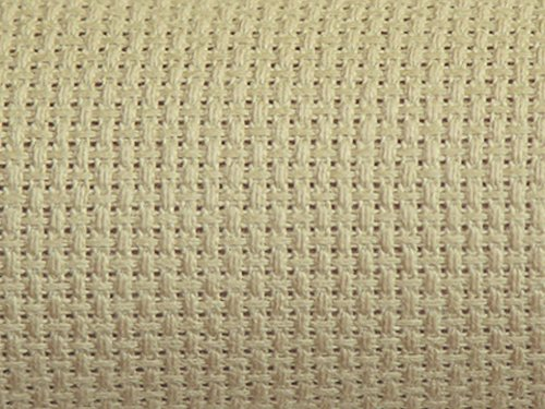 Charlescraft 14 HPI Gold Standard Aida Cross Stitch Fabric Beige - per pack