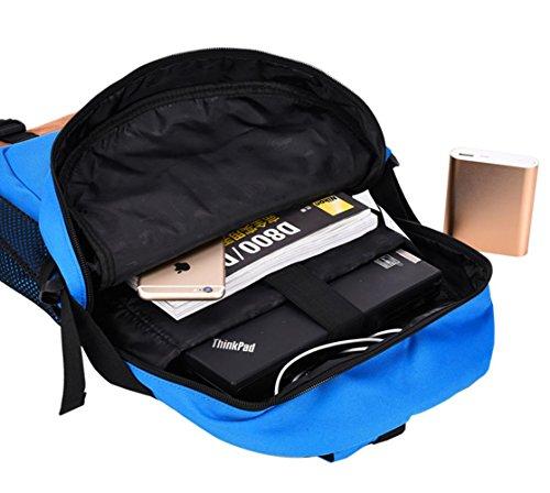 BUSL bolsa de bolsa de deporte hombre bolsa grande de viaje mochilas afluencia gimnasio al aire libre de la bolsa casual estudiantes de la escuela secundaria del viento universidad