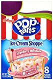 Pop-Tarts Toaster Pastries, Ice Cream Shoppe Strawberry Milkshake, 13.5-Ounce Boxes (Pack of 6)