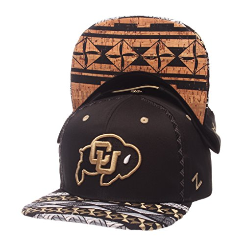 Zephyr Colorado Buffaloes Official NCAA Makai Adjustable Hat Cap 276709 by Zephyr