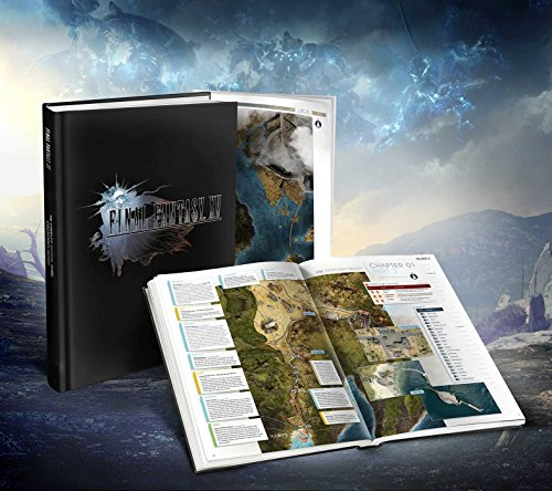 Final Fantasy XV: The Complete Official Guide Collector's Edition by Piggyback cover