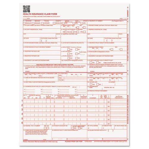 Hcfa 1500 Form - 5
