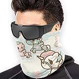 Tokidoki Half Face Mask Balaclava Neck Gaiter