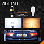 AGLINT T15 W16W LED Bulbs CANBUS Error Free 22SMD T16 955 921 912 Wedge for Car Backup Reverse Lights