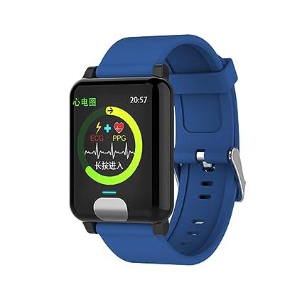 YIGIAO Smart Watch ECG + PPG Smart Pulsera Fitness Tracker ...