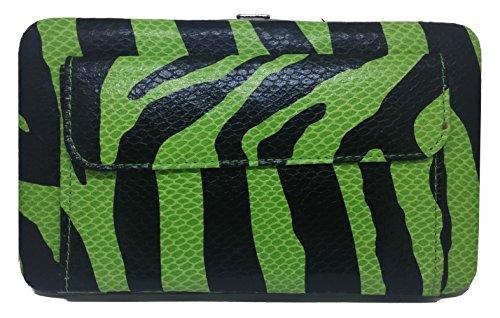 Textured Clutch Wallet - 9