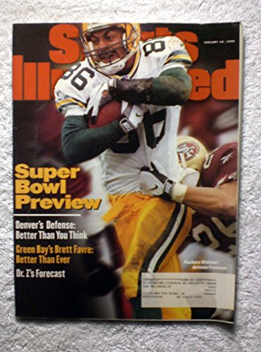 (Antonio Freeman - Super Bowl XXXII Preview - Green Bay Packers vs Denver Broncos - Sports Illustrated - January 19, 1998 - SI)