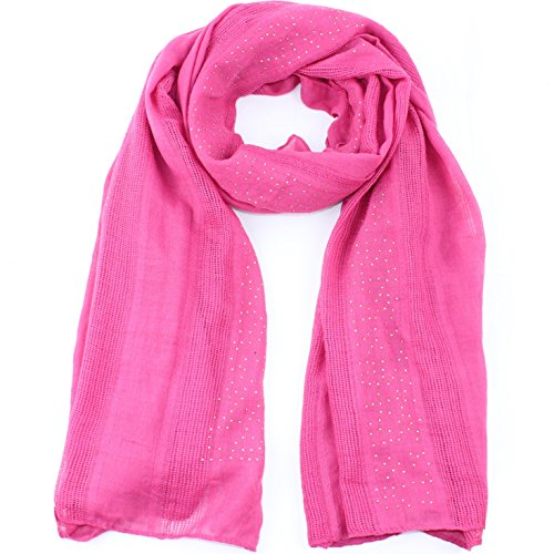 (Soft Wrap Shawl Fashion Scarf for Women Cotton Shawls and Wraps for Evening Dresses Wedding Solid Color Rose Red)