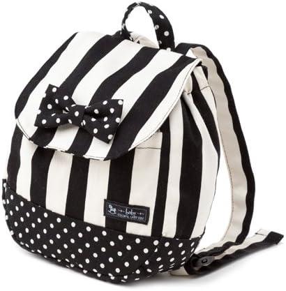 ベビーリュック 赤ちゃん wide stripe(twill・black) B1604400