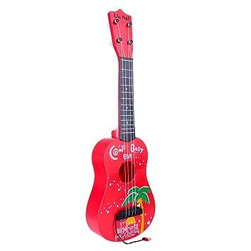 TOBY Guitarra para Niños, 4 Cuerdas Niños Simulación Música ...