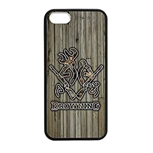 Browning Camo Deer for iPhone 6 (4.5) Case Cover 038692 Rubber Sides Shockproof Protection with Laser Technology Printing Matte Result