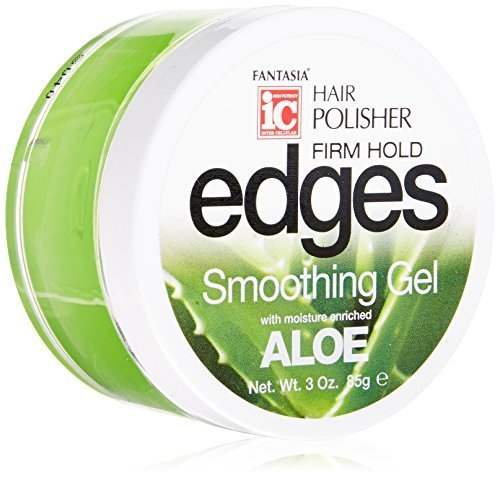 - Fantasia Edges Hair Polisher Firm Hold Smoothing Gel, 3 Ounce by Fantasia