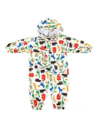 Vine Kids One Piece Rainsuit Coverall Baby Waterproof Jumpsuit (1 - 7 years)