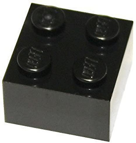Lego Stone Rounded 2x2x0,6 White 4 Piece 2395