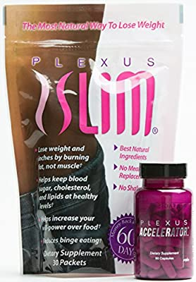 ACCELERATOR 30 Day Supply (60 Capsules) plus PINK DRINK 30 Day Supply (30 Packets )