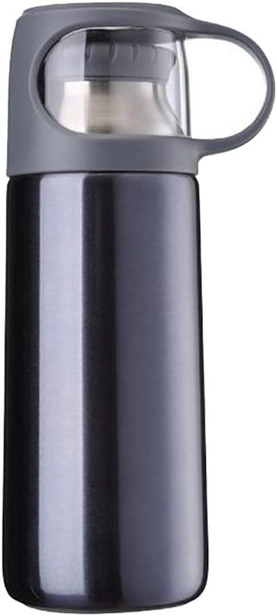Botella de Agua de Acero Inoxidable,Botella de agua con aislamiento de acero inoxidable, botella de agua para niños de 350 ml para hombres y mujeres para niños, adecuada para viajes escolares de c