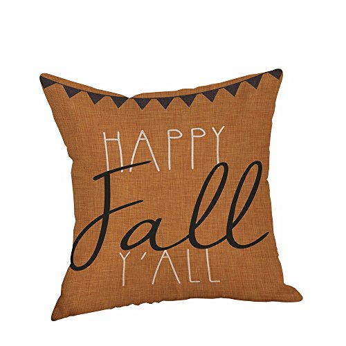 CHIDY Square Halloween Pillow Cases Linen Sofa Cushion