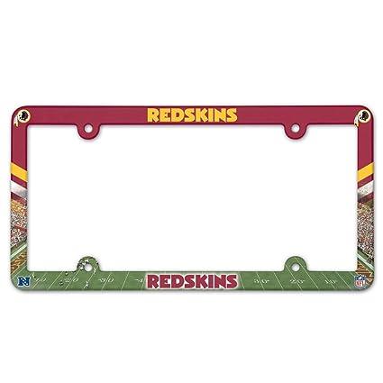 Amazon.com : WinCraft Washington Redskins Full Color License Plate ...