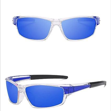 YY4 Gafas de sol deportivas polarizadas de la visión nocturna que conducen gafas de sol de