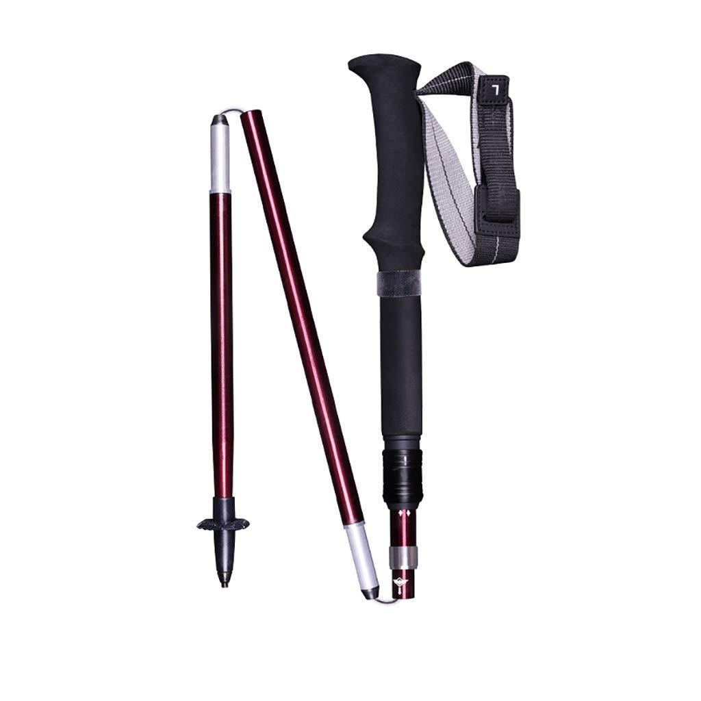 FENGHUANG Outdoor Trekking Pole Aluminiumlegierung Ultra Light Falten -115 35 cm -115 Falten cm bc76de