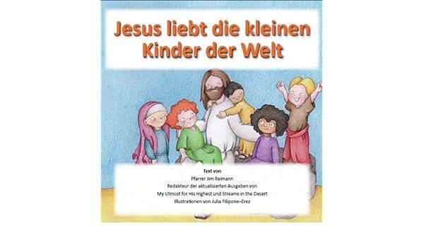 Jesus Liebt Die Kleinen Kinder Der Welt Basierend Auf