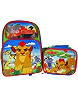 Disney Lion Guard Backpack and Lunch Bag Combo Set