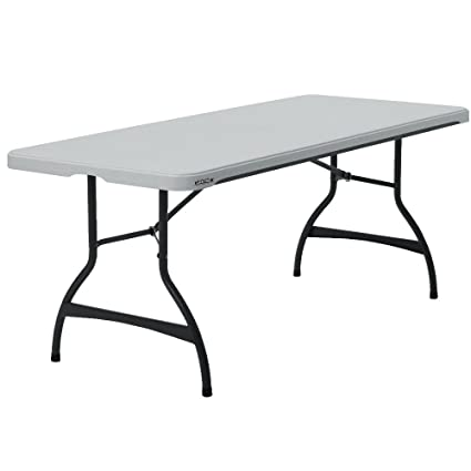 Attrayant Lifetime 6 Foot Folding Tables, White Granite   Pallet Pack Of 26