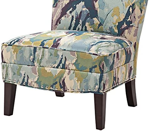 Madison Park Hayden Slipper Accent Chair Multi See Below