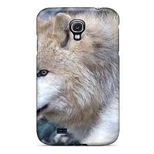 NubaUZl4035YQiyb Faddish Arctic Wolve Case Cover For Galaxy S4