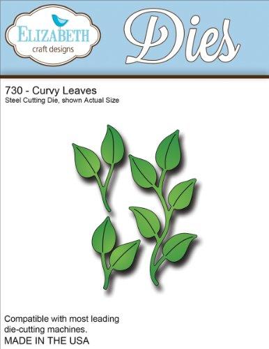 Elizabeth Craft Designs Elizabeth Craft Metal Die, Curvy Leaves