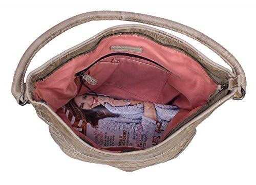 FredsBruder Damentasche Bambiraptor winter beige Beige
