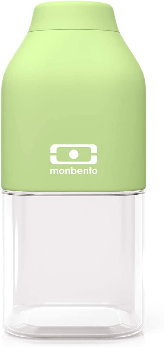 monbento - MB Positive S Apple Green Kids Water Bottle - Bpa Free - 12 Oz - Leak Proof Water Bottle