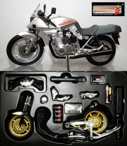 1/12 No.02 GSX1100SE 刀 1990年式(シルバー) 「ダイキャストネイキッドバイクシリーズ」 0079973