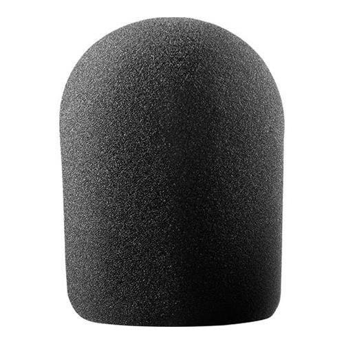Audio Technica AT8137 Large Studio Foam Windscreen (Black) by Audio-Technica