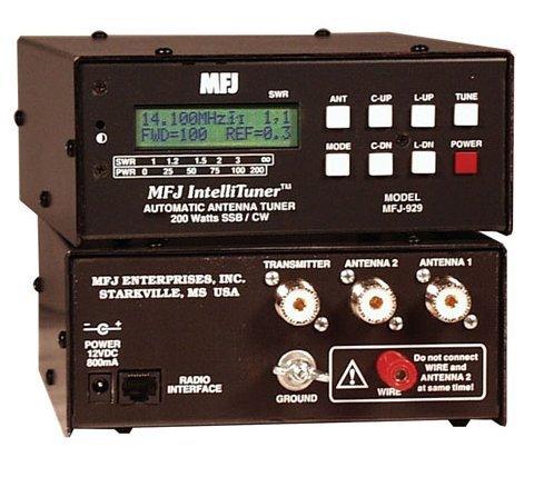 MFJ Enterprises Original MFJ-929 1.8-30 MHz Compact 200 Watt IntelliTuner. by MFJ