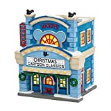 Dept 56 Disney Christmas Village 'Mickeys Cinema Lighted Bldg New 2015