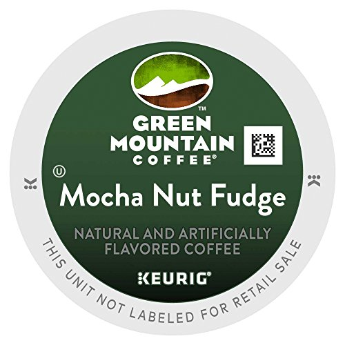 Green Mountain Coffee Mocha Nut Fudge, K-Cup Chunk Pack for Keurig Brewers 24-Count