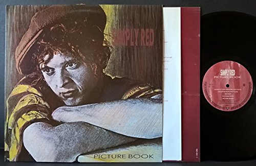Price comparison product image Simply Red: Picture Book LP VG++ Canada Elektra 96 04521