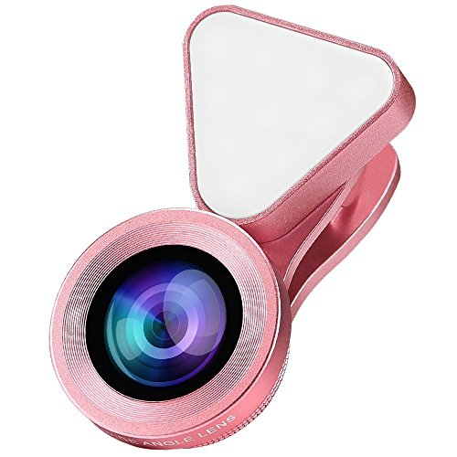 Wide Angle + Macro Clip-On Lens for Smartphones and Tablets (Gold) - 7