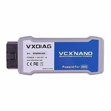 VXDIAG VCX Nano GDS2 and Tech2Win Diagnostic Programming System for GM/Opel