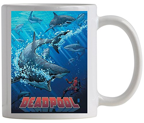 [Surreal Entertainment Deadpool: Shark Tank Coffee Mug] (Epiko Costume)