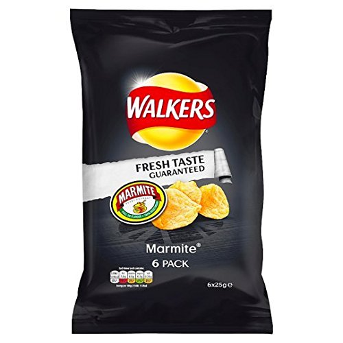 Walkers Crisps - Marmite (6x25g) (Best Food Gifts From Dc)