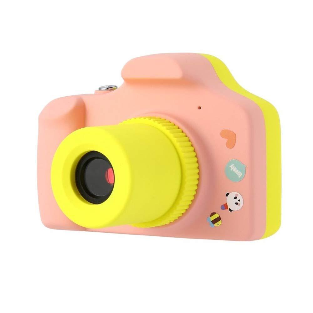 JIAIIO 1.5 Inch 2MP 1080P Mini Camera Digital Camera for Kids Baby Cute Cartoon Multi-Function Toy Camera Children Best Gift Drop Ship